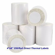 1-20 Rolls Direct Thermal Shipping Labels 250 Labels/Roll For Zebra Eltron 2844