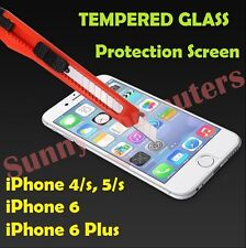 New Scratch Resist Tempered Glass Screen Protector Film Guard for iPhone 5 5s 4s