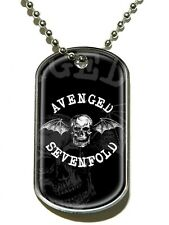 Avenged Sevenfold Death Bat A7X Dog Tag