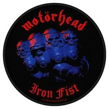 Motorhead Iron Album Patch - NEW & OFFICIAL
