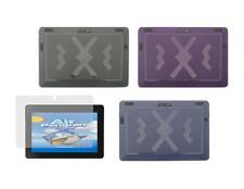 """TPU Skin Cover Case and Screen Protector for Amazon Kindle Fire HDX 8.9"""" 2013"""