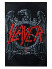 Slayer Eagle Black Textile Flag