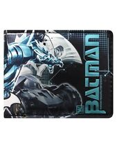 Batman Arkham Knight Batmobile Bi-Fold Black Wallet