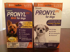 Sergeant's Pronyl OTC & OTC MAX (Various Products for Various Sized Dogs & Cats)