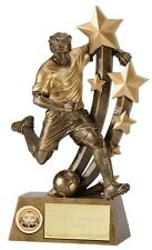 FOOTBALL Footballer Soccer Player Trophy FREE ENGRAVING Choice of Sizes