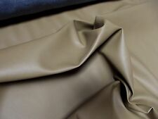 Faux LEATHER Leatherette PVC Vinyl Upholstery Fabric Material - WALNUT