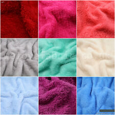 Faux Fur simulated Sheep Plush Lamb Fleece Mink fabric super soft  sold by meter