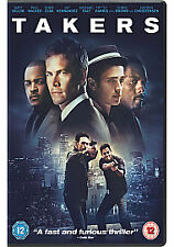 TAKERS DVD - PAUL WALKER - NEW / SEALED DVD