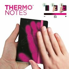 Thermonotes Thermo Heat Sensitive Colour Changing Notebook Diary