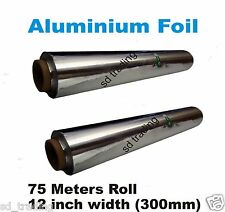 Kitchen Catering Aluminium Foil Tin 300mm x 75m strong quality packing 1 2 3 4