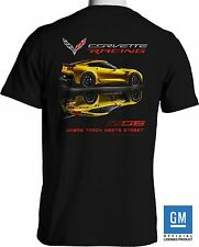 New Corvette Z06 T Shirt 2016 Chevrolet Stingray Race Car - Free Shipping
