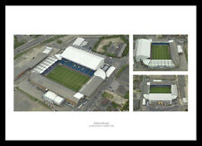 Leeds United Elland Road Stadium Aerial Photo Montage (LUAIMU1)