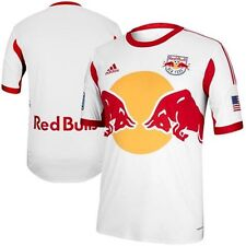adidas New York Red Bulls Authentic Home Soccer Jersey