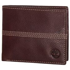 Timberland Quad Men's Leather Bifold Wallet - For Credit Cards and ID - NEW!