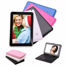 """iRULU Tablet PC 9"""" 8GB Android 4.4 Kitkat Quad Core Dual Cameras w/ Keyboard New"""