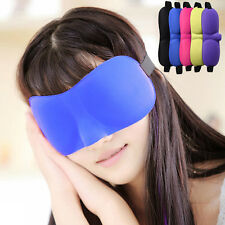 Travel 3D Eye Mask Soft Sponge Sleep Masks Rest Relax Blindfold For Sleeping Aid