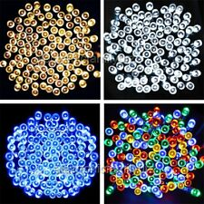 200 LED String Solar Powered Fairy Lights Garden Party Christmas Outdoor White