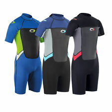 Osprey Origin Kids Childrens 3/2mm Shorty Junior 3mm Wetsuit Shortie Boys Girls