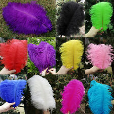 Wholesale 10-50pcs High Quality Natural OSTRICH FEATHERS 6-14inch/15-35cm GN