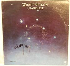 "WILLIE NELSON Signed Autographed ""Stardust"" Album LP JSA #L26713"