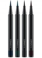 MAC Fluidline Liquid Eyeliner Eye Liner Pen Black, Green, Brown & Blue NIB