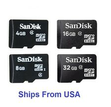 SanDisk 4GB 8GB 16GB 32GB MicroSD Micro SD Flash Memory Card TF