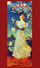 2066 Scala Nouveau wall Art Decoration POSTER.Graphics to decorate home office.