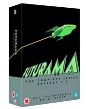 FUTURAMA SERIES 1-8 COMPLETE DVD BOX SET NEW SEASONS 1 2 3 4 5 6 7 8