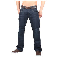 8730 Jack & Jones Boxy CHARLES Loose Fit Men's Jeans Denim Trousers Dark Blue