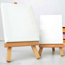 Wooden Easel+Canvas MINI Artist Set for Display & Signs