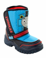 BOYS OFFICIAL THOMAS THE TANK ENGINE SNOW WINTER BOOTS SHOES UK 5-10