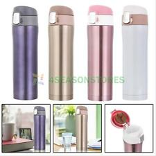 500ml Stainless Steel Insulated Thermos Cup Coffee Mug Travel Drink Water Bottle