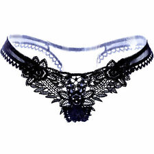 Women Sexy Lace Thongs G-string V-string Panties Knickers Lingerie Underwears