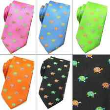 New Fashion Rooster Men's 100% Silk Tie Neckties Turtles 5 Colors Retail $45