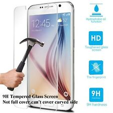 Tempered Glass/Anti-Spy Clear Protective Screen Film for Samsung Galaxy S6 Edge+