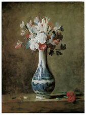 1187.Floral painting wall Art Decoration POSTER.Graphics to decorate home office