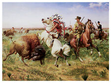 1343 Hunt painting wall Art Decoration POSTER.Graphics to decorate home office