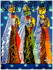 300. Art Decoration POSTER.Graphics to decorate home office.Carteles Three Kings