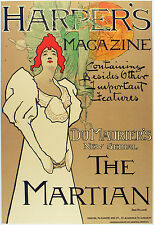 2112 Harper's Magazine Art Decoration POSTER.Graphics to decorate home office.