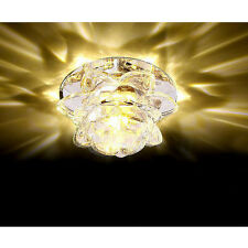Modern 10cm 3W Crystal LED Ceiling lights chandeliers Colorful Aisle lights #467