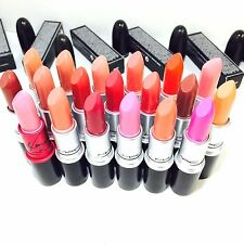 MAC LUSTRE lipstick 20 colors of your choice- Same business day shipping NIB