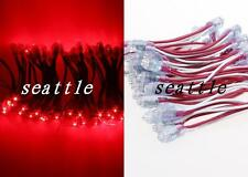 Hot DC 5V 9mm Waterproof LED Module Light Pixel Exposed Fairy String Lamp Red