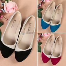 Hot Women Ballerina Loafers Flats Ballet Casual Slip On Single Flat Candy Shoes