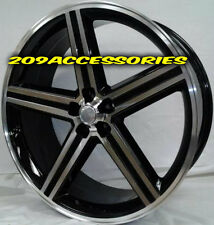 22 INCH IROC B/M RIMS WHEELS AND TIRES CHEVELLE IMPALA CUTLASS MONTE CARLO