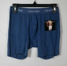 CALVIN KLEIN BODY MODAL BOXER BRIEF MENS UNDERWEAR BLUE SZ S  # U5555-NWT