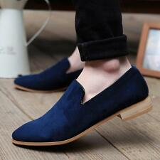 4 Color US Size 5-11 New Suede Leather Mens Driving Moccasin Loafer Casual Shoes