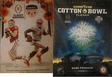 2015 2016 ORANGE COTTON BOWL PROGRAMS CLEMSON ALABAMA COLLEGE FOOTBALL $18.49 EA