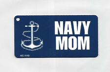 US NAVY Theme Metal Key Chain weather resistant finish