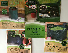 GARDEN/PATIO TOMATO,POTATOES GROWING BAGS SACKS PLANTER,VEGETABLES PLANTING MAT
