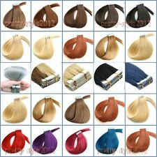 Full Head Tape-in Extensions 100%Human Remy Straight Style Hair 16''-26'' 20pcs